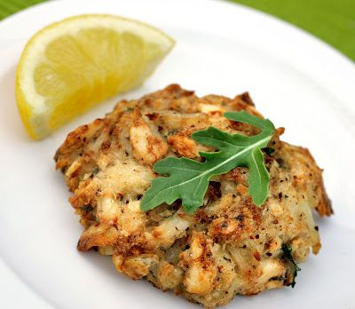 ... with Beth: Maryland Lump Crab Cakes with a Lemon-Parsley Butter Sauce