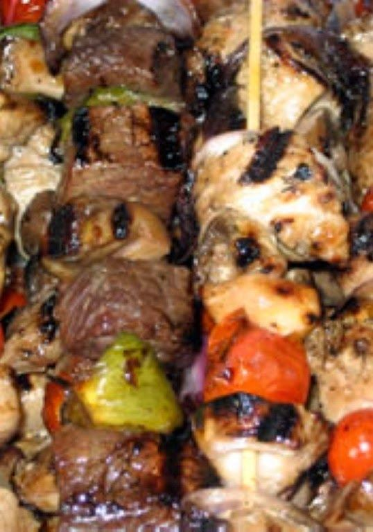 Yummy Honey Chicken Kabobs | The only thing that I did differently was ...