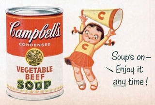 Campbell Soup Kid, 1954