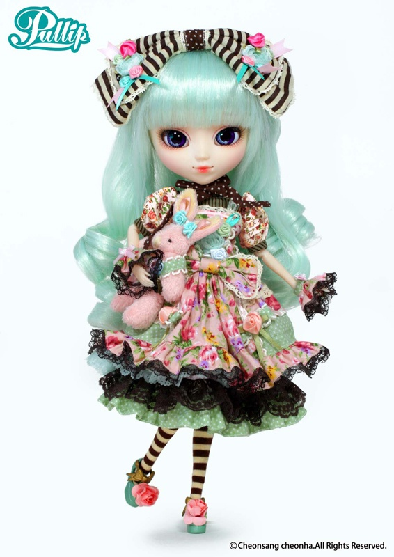 Pullip alice du jardin mint version pullip family for Alice du jardin pullip
