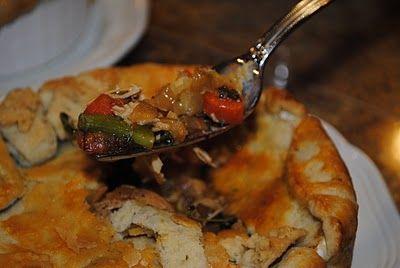 Spring Vegetable & Chicken Pot Pie | Food - Healthier Savoury | Pinte ...