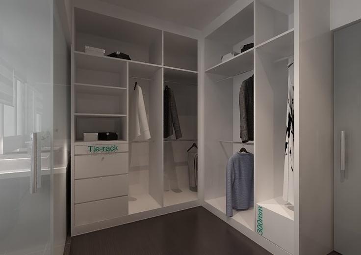 Walk in wardrobe ideas wardrobes pinterest for Walk in wardrobe ideas
