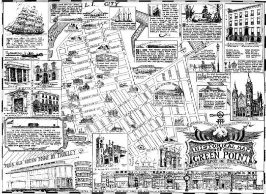 Old Greenpoint Map Greenpoint Pinterest Maps