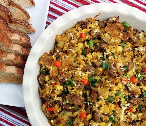Breakfast Bake - vegan | .Vegan - Breakfasts | Pinterest