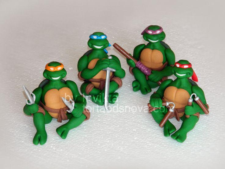 Ninja Turtle Wedding Cake Topper