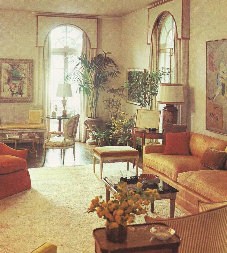 Vintage home decorating 1960s 1960 39 s living areas for Home design 60s