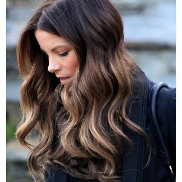 kate beckinsale ombre hair newhairstylesformen2014com