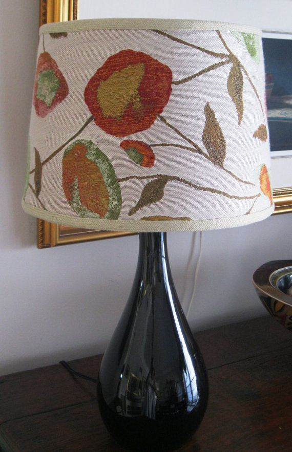 Fabulous Drum Lamp Shade in a Contemporary Neutral by SCBORIGINALS