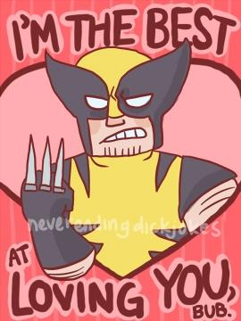 funny marvel valentines cards