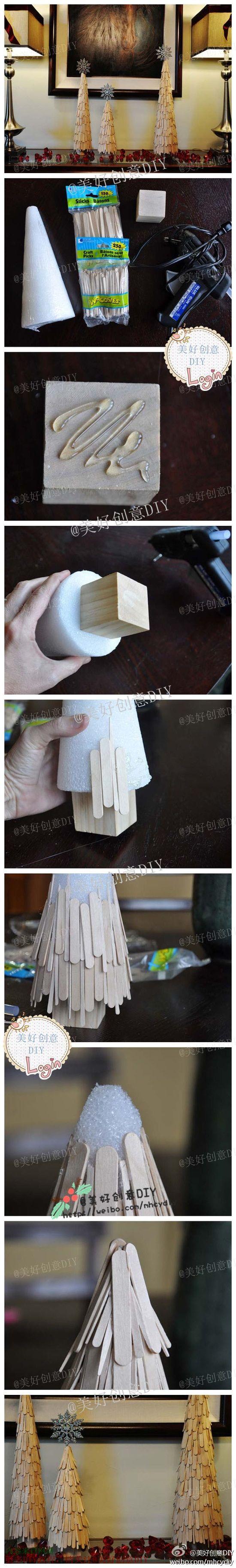 Как сделать елочку своими руками с фото