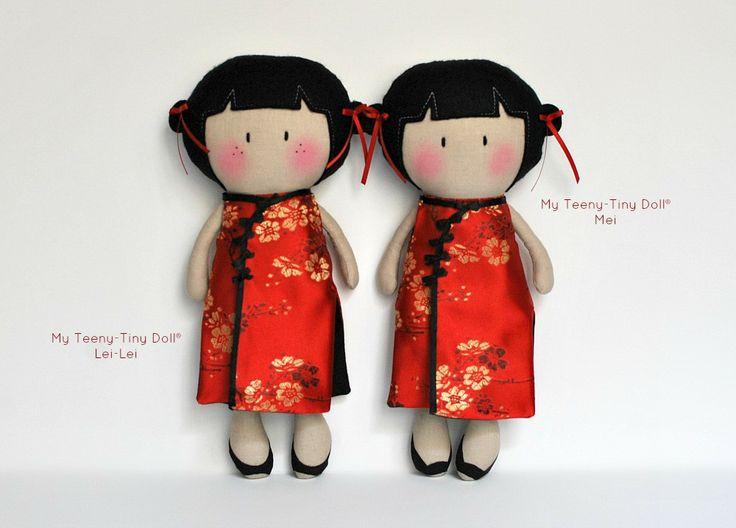 Китайский Новый год Тематические Мои Teeny-Крошечные Куклы ® | Кук вам некоторые Лапша