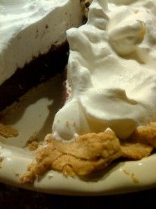 Mile-High Chocolate Cream Pie | Desserts | Pinterest