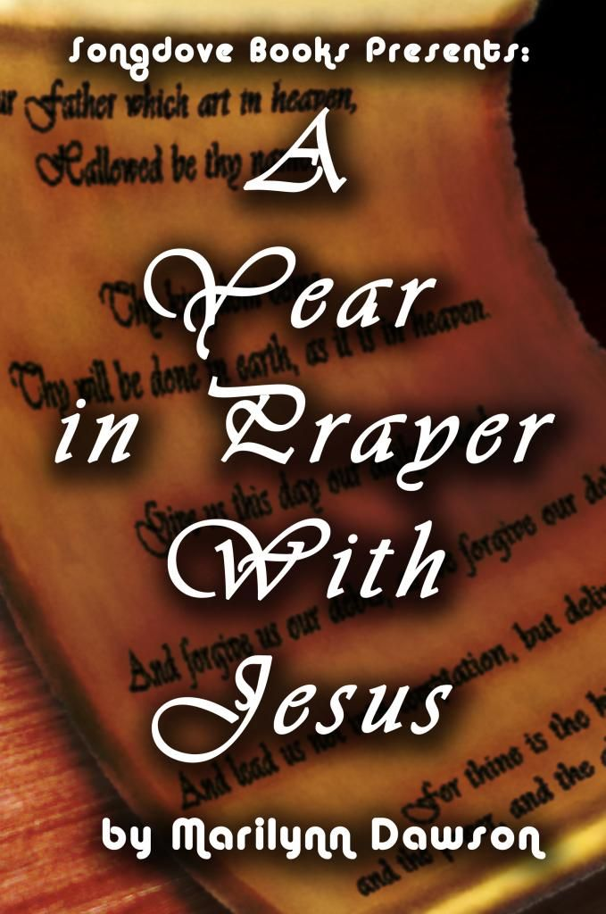 "Front Cover for ""A Year in Prayer With Jesus"""