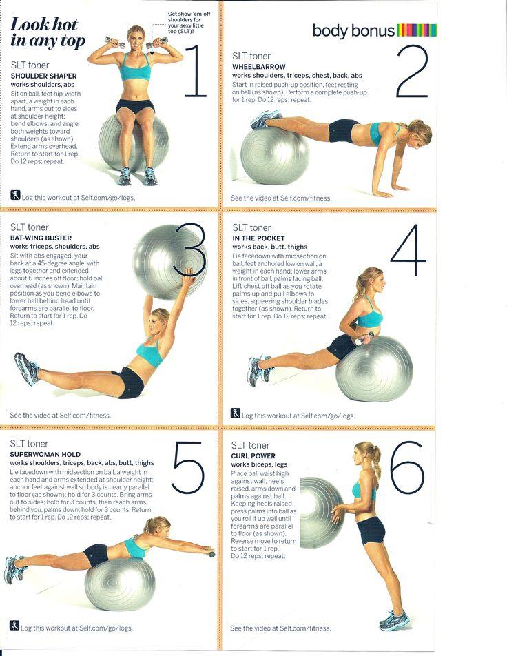 Arm Workout   Arm Exercises   Pinterest