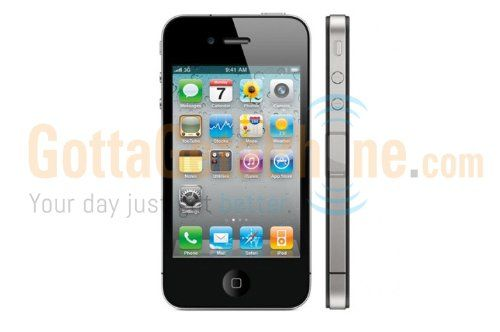 Virgin Mobile - Apple Iphone 4 with 8gb Memory No-contract Phone ...