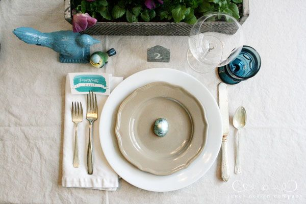 ... table setting -