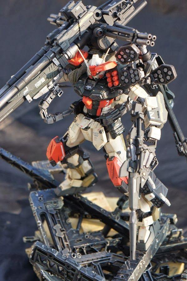 custom gundam build heavy arms