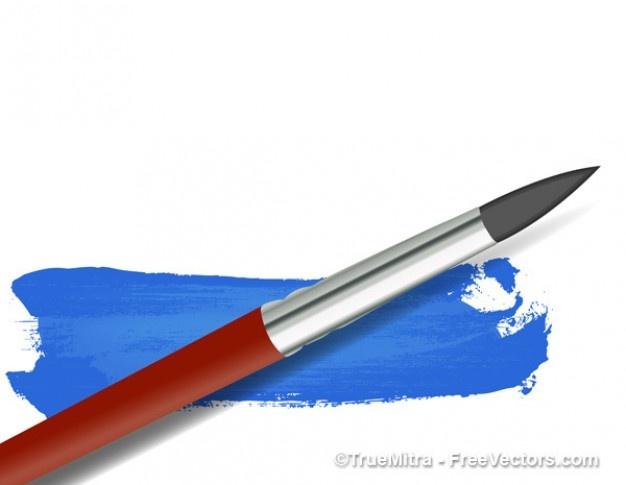 Pin Paint Brush Strokes Tattoo on Pinterest