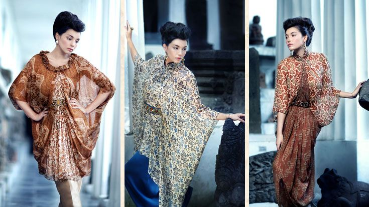 Modern Batik Dress by Danar Hadi | Indonesian Batik | Pinterest