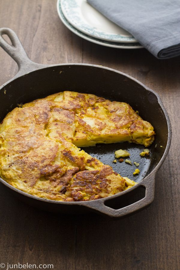 spanish potato omelet cook like james spanish potato omelet spanish ...