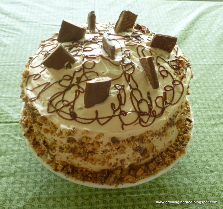 More like this: heath bar cakes , heath bars and cake .