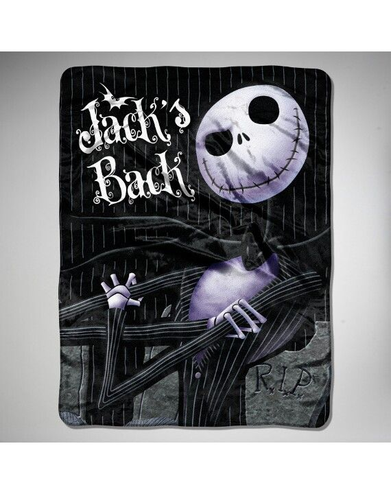 Nightmare Before Christmas blanket | Christmas | Pinterest