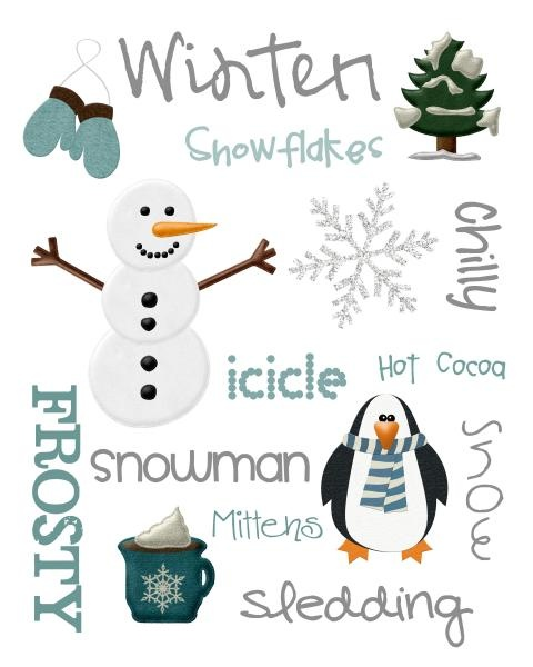 Ideas for my winter themed quilt