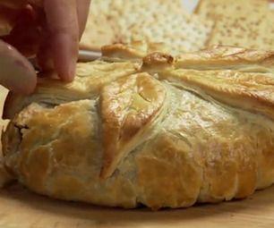 Holiday Brie en Croute | Food | Pinterest