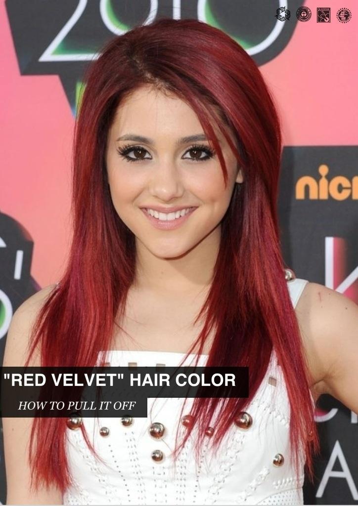 Red Velvet Hair Dye Fo...