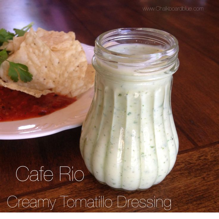 Creamy Tomatillo Sauce Recipe — Dishmaps