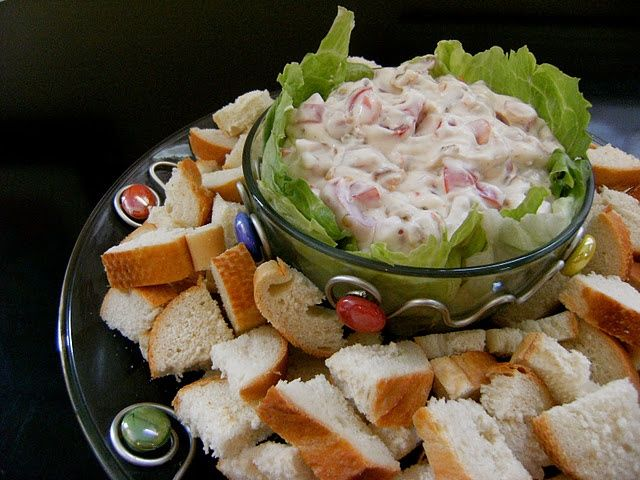 BLT Dip | Yumbly in my tumbly | Pinterest
