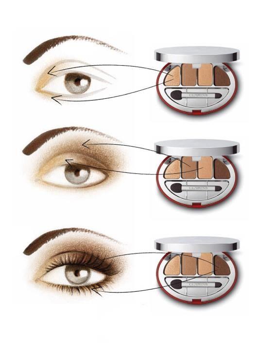 Схема макияжа смоки айс фото 804