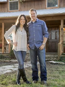 This is an amazing couple that remodels homes...Joanna and Chip Gaines - on HGTV- Fixer Upper