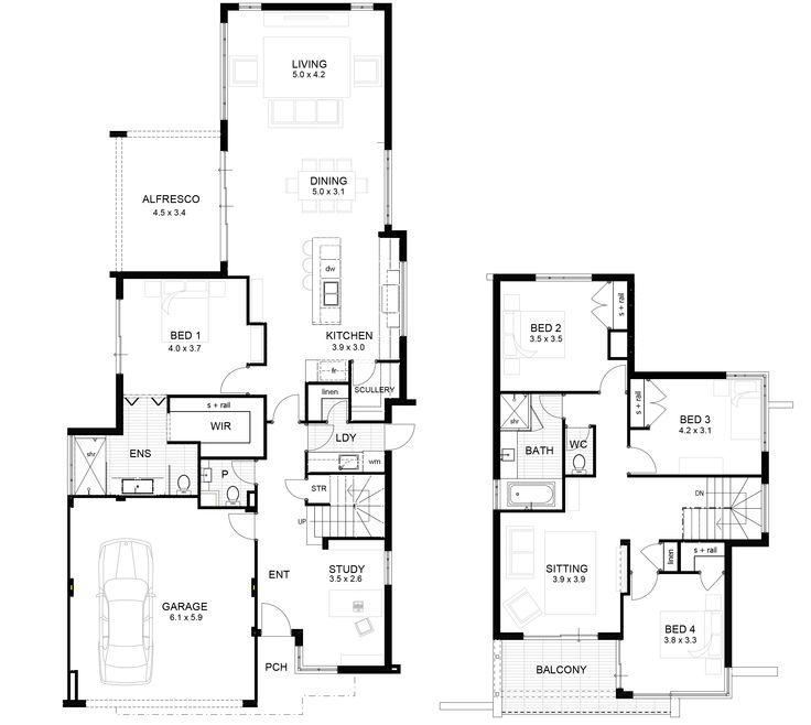9 metre wide house designs