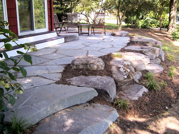 Landscaping Stone Maryland : Boulder retainment g ? stone
