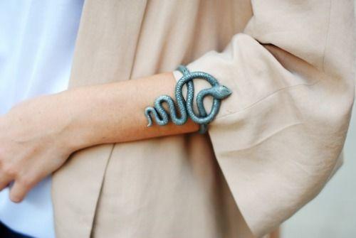 Snake bracelet.