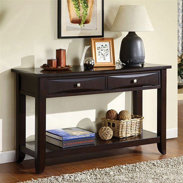 furniture of america cm4265dk s baldwin sofa table