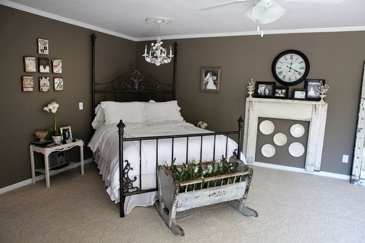 Paint color for master bedroom for the home pinterest for Joanna gaines bedroom ideas