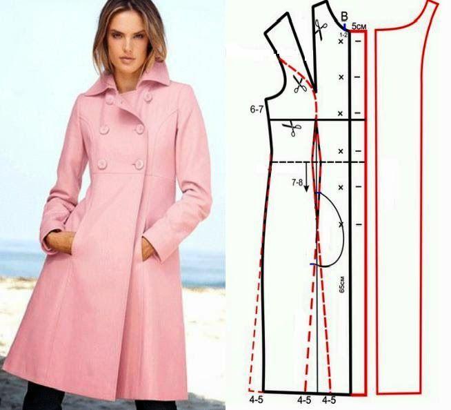 Как сшить пальто - советы Анастасии Корфиати