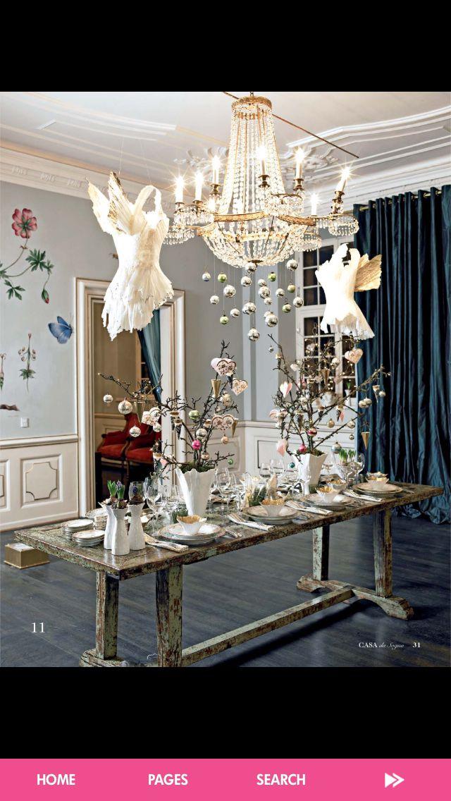 Italian christmas decor home decor pinterest for Italian decorations for home