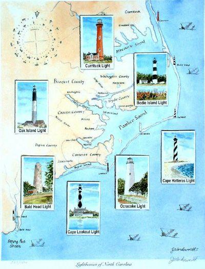 Lighthouses Of North Carolina  Beloved  Pinterest