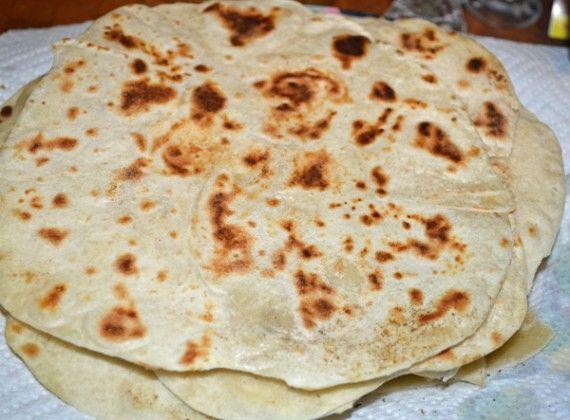 Homemade Flour Tortillas | Nom Nom | Pinterest