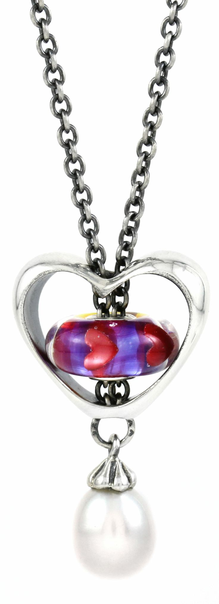 valentine heart necklaces
