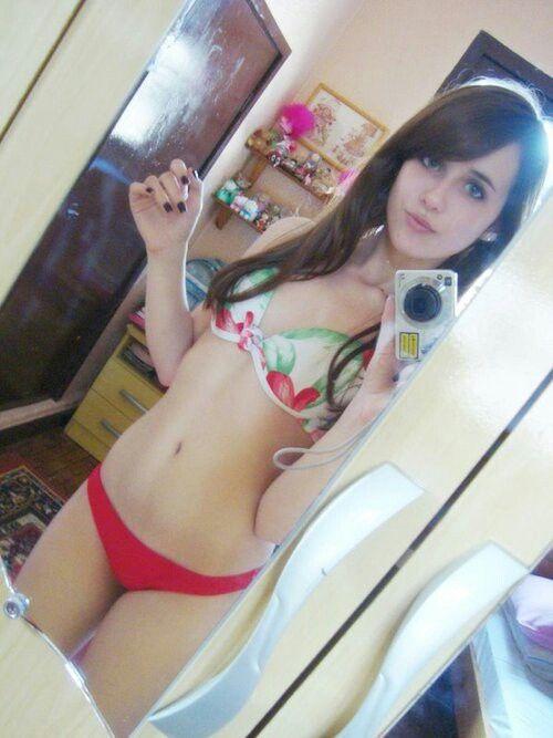 cute teen girl selfie - photo #5