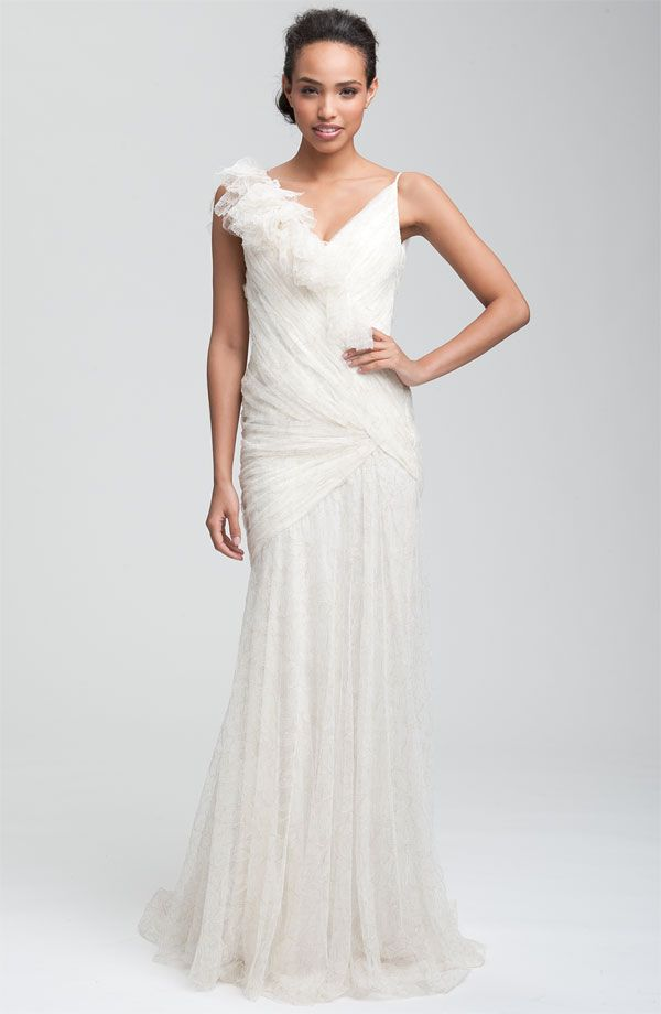 31 original carmen marc valvo wedding dresses for Nicole miller wedding dresses nordstrom