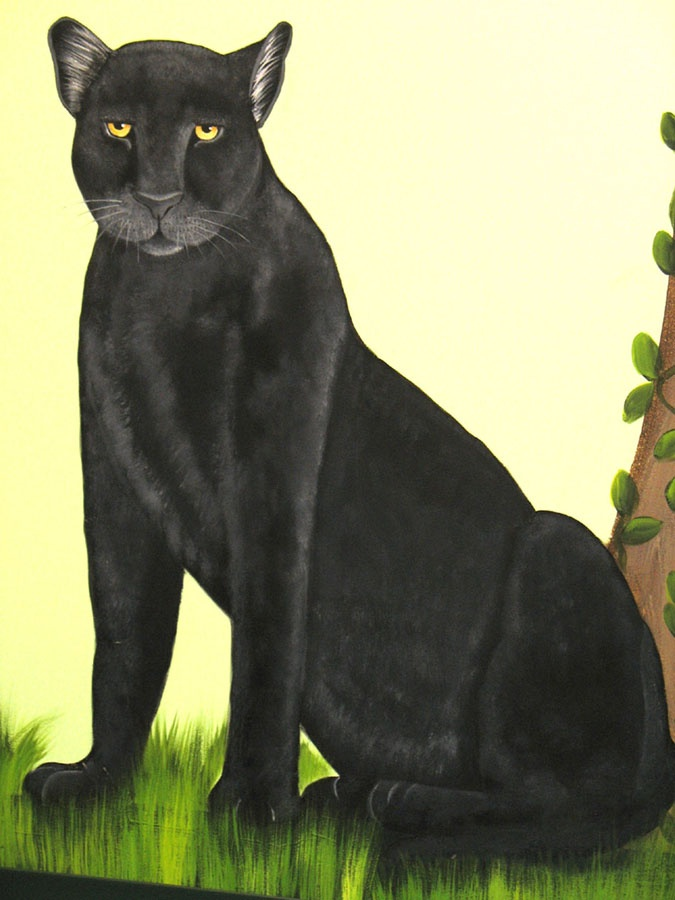 black panther murals i have painted pinterest