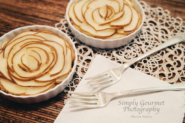 Brie and Pear Tarts by Simply Gourmet Photography