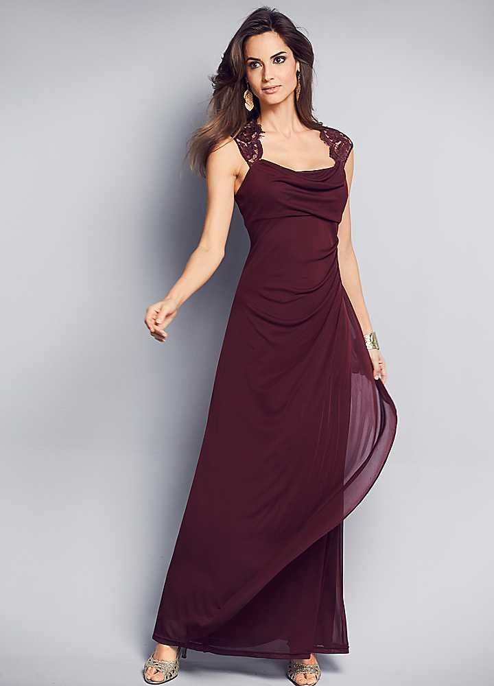 So beautiful / Cowl neck dress