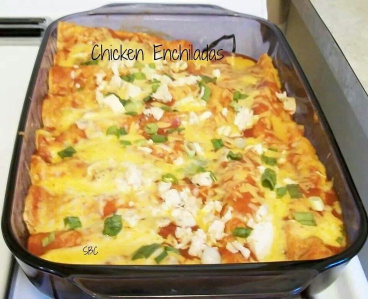 Easy chicken enchilada bake | Chicken enchiladas | Pinterest