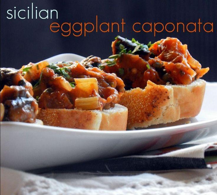 Eggplant caponata-2 | Sauces and dips | Pinterest